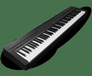 Piano oefenen op keyboard