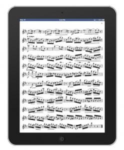 online bladmuziek