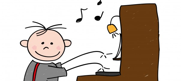 piano leren spelen kind