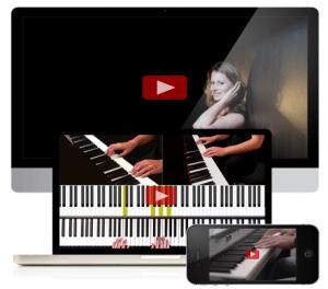 Online pianoles
