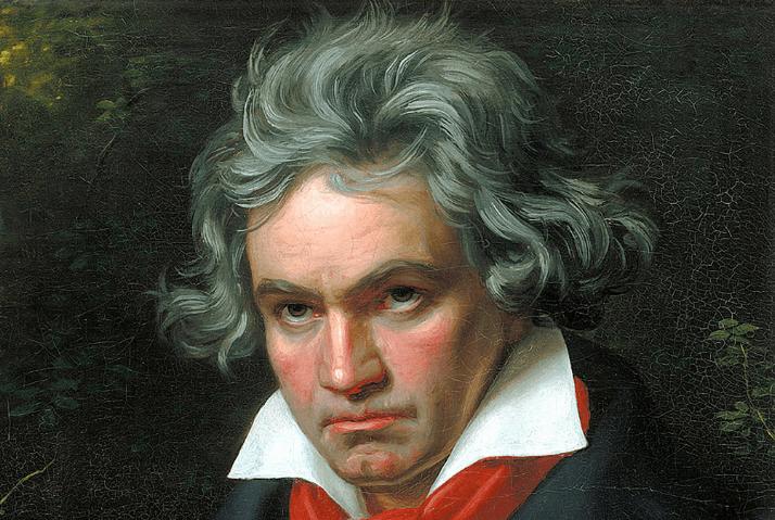 Gratis Beethoven piano bladmuziek