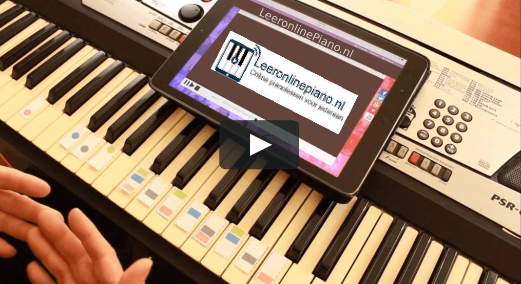 Online Pianoles is altijd een mooi alternatief