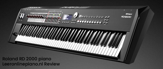 Recensie van de Roland RD 2000 digitale piano